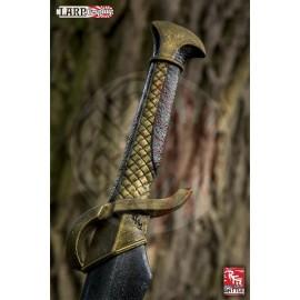 Epée Elfique tréssée - 70 à 75 cm