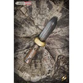 Couteau de lancer de botte