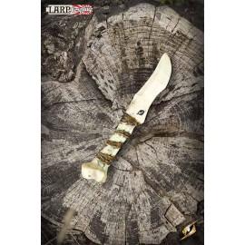 Couteau de lancer en Os