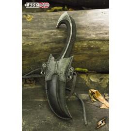 Couteau de lancer Elfe Noir + Fourreau
