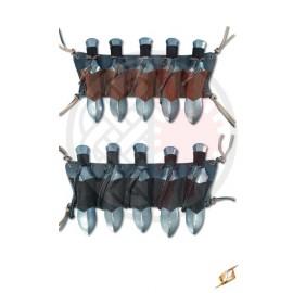Foureau pour armes de jet (x5)