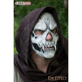 Masque trophée - Crâne blanc