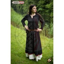 Basic Dress - Noir Epic / Rouge Foncé