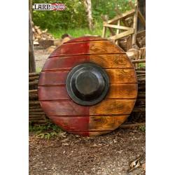Bouclier Drang Rouge / Bois - ø50 cm