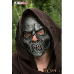 Masque trophée - Crâne argent