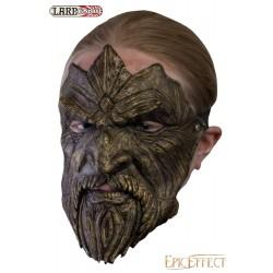 Masque trophée - Barbue en bronze